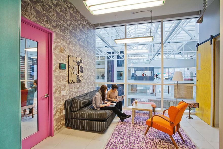 Desain Kantor Paling Keren di Dunia - Desain kantor keren - Airbnb 02