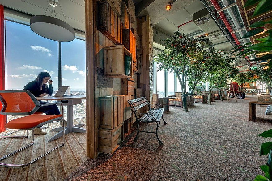 Desain Kantor Paling Keren di Dunia - Desain kantor keren - Kantor Google 01