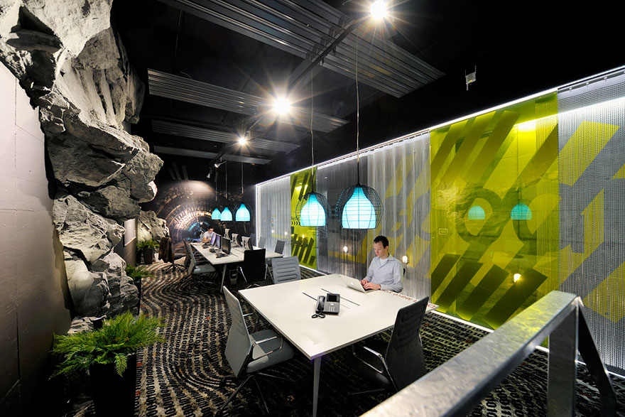 Desain Kantor Paling Keren di Dunia - Desain kantor keren - Kantor Google 02