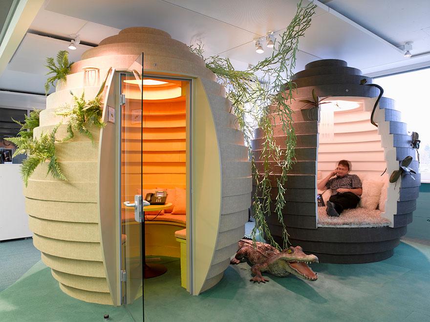 Desain Kantor Paling Keren di Dunia - Desain kantor keren - Kantor Google 12