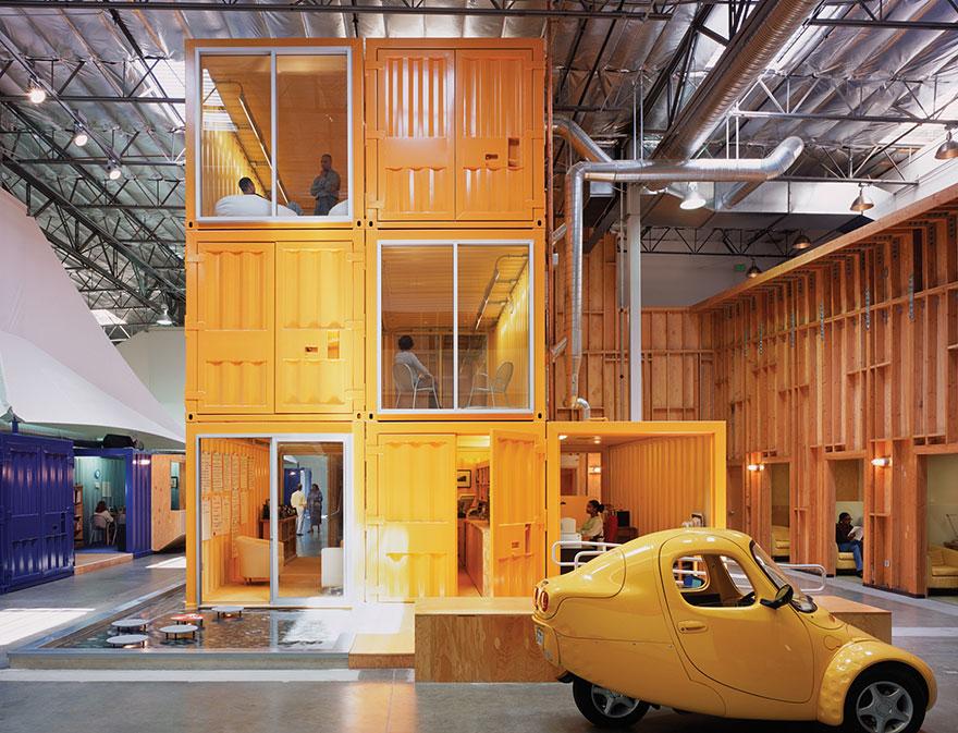 Desain Kantor Paling Keren di Dunia - Desain kantor keren - Pallotta Teamworks 01