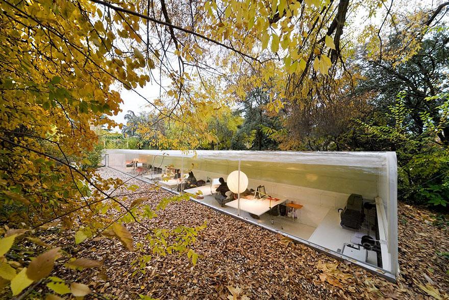 Desain Kantor Paling Keren di Dunia - Desain kantor keren - Selgas Cano Architecture Office 01