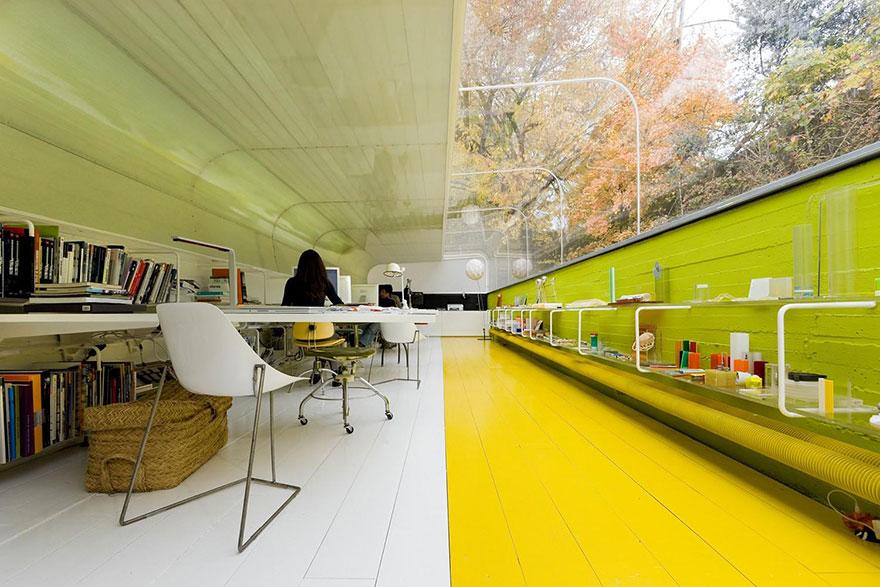 Desain Kantor Paling Keren di Dunia - Desain kantor keren - Selgas Cano Architecture Office 03
