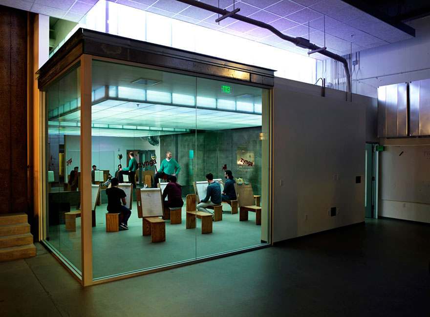 Desain Kantor Paling Keren di Dunia - Desain kantor keren - Zynga 02