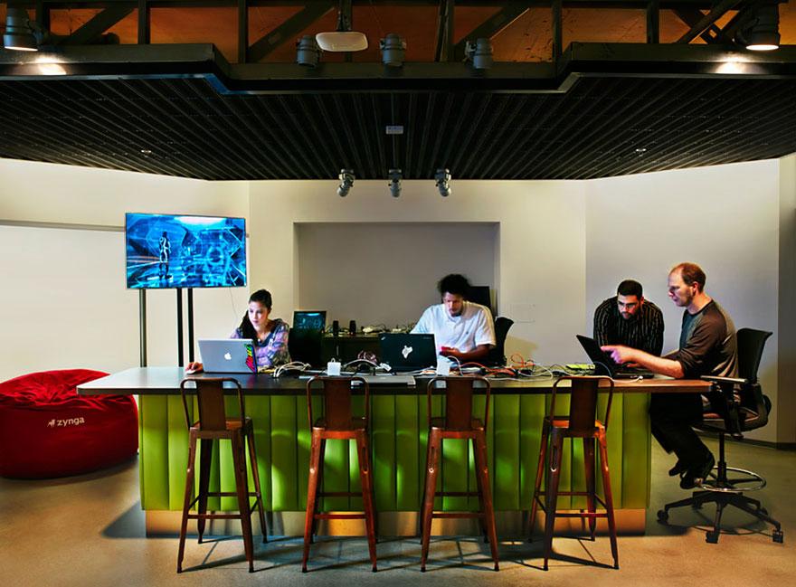 Desain Kantor Paling Keren di Dunia - Desain kantor keren - Zynga 03