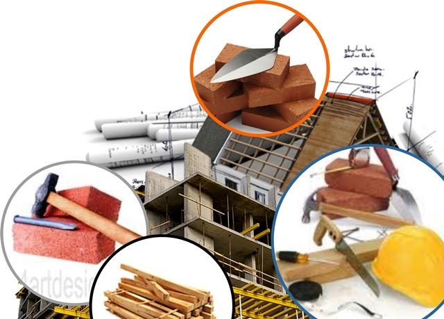 Bahan Bangunan yang Banyak Digunakan