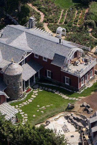Barbra Streisand's Malibu house 2007
