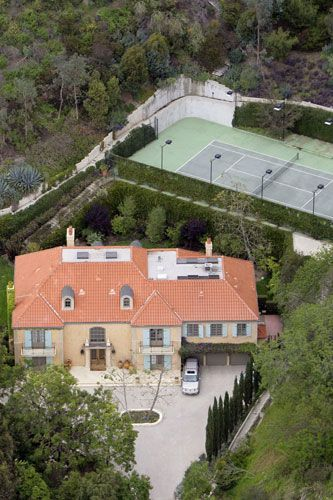 Heidi Klum and Seal's home in Beverly Hills 2006