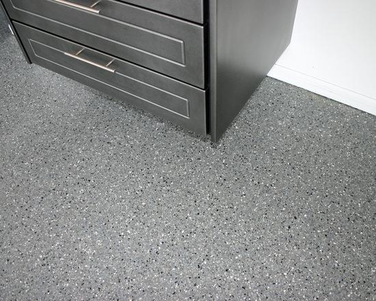 Penggunaan Epoxy Coating - Ide Contoh Epoxy - Custom Garage Cabinets