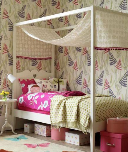 24 Contoh Desain Wallpaper Dinding yang Cantik - Enchanting - Best Home Wallpaper Design