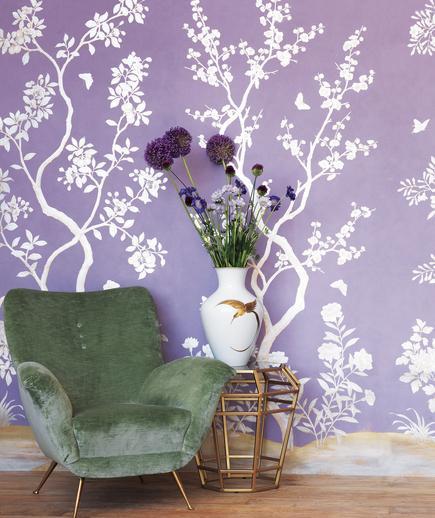 24 Contoh Desain Wallpaper Dinding yang Cantik - Fanciful - Best Home Wallpaper Design