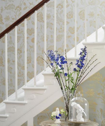 24 Contoh Desain Wallpaper Dinding yang Cantik - Sophisticated - Best Home Wallpaper Design