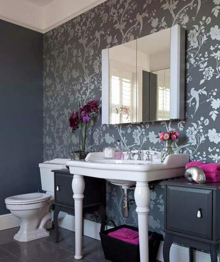 24 Contoh Desain Wallpaper Dinding yang Cantik - Stunning - Best Home Wallpaper Design