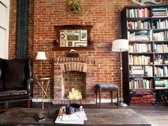 Batu Bata Desain Interior Modern dan Klasik Ekterior