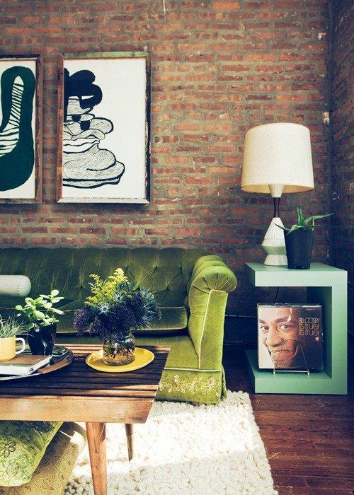 Gambar Batu Bata Desain Interior Modern dan Klasik - Tembok Batu Bata - Interior Desain Kamar Rumah 36