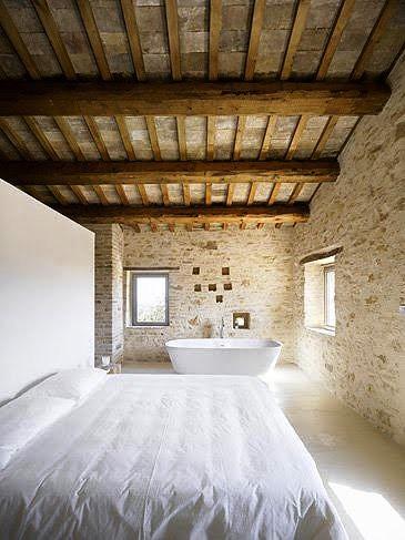 Gambar Batu Bata Desain Interior Modern dan Klasik - Tembok Batu Bata - Interior Desain Kamar Rumah 47