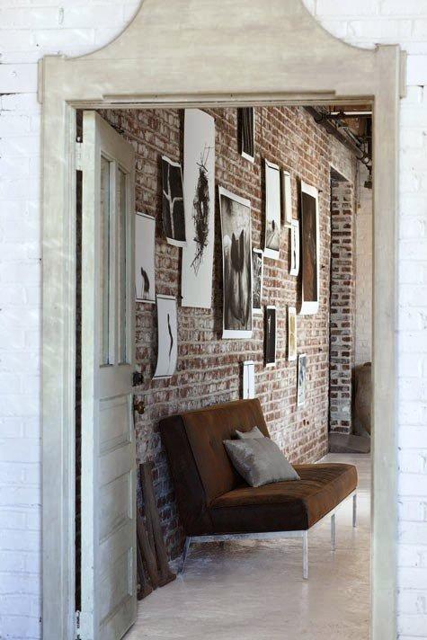 Gambar Batu Bata Desain Interior Modern dan Klasik - Tembok Batu Bata - Interior Desain Kamar Rumah 50