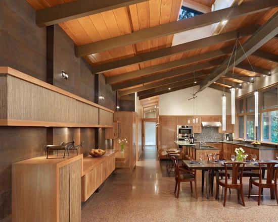 Kontraktor Pelapisan Epoxy Coating Proyek Lantai Gedung - Epoxy Coated Floor midcentury dining room 1