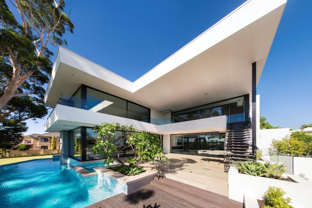25 gambar desain rumah mewah dan cara dekorasi interior ideal