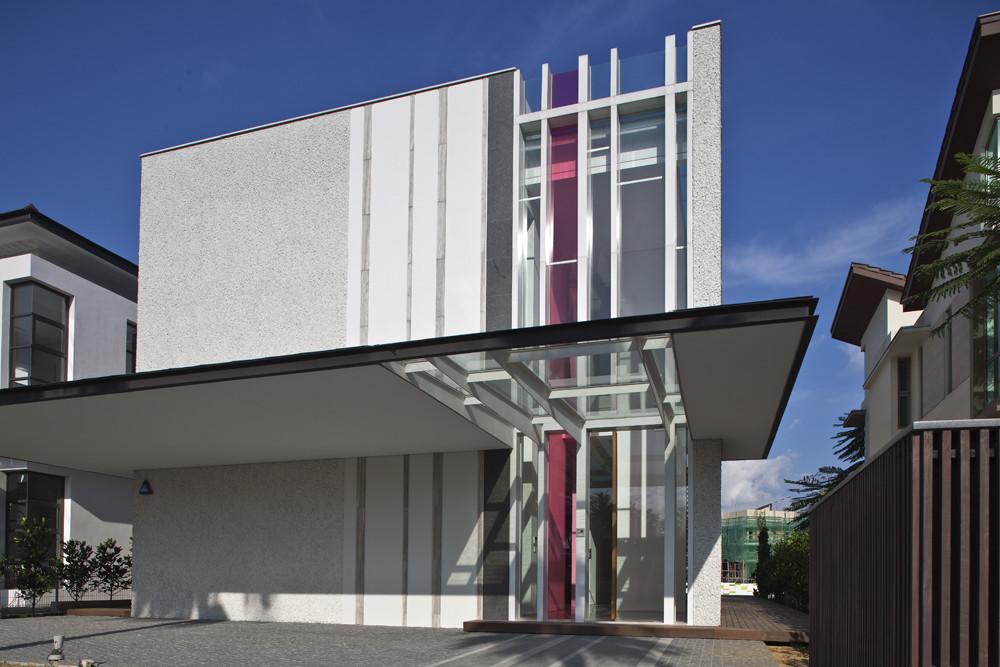 Kontraktor Bangunan Rumah Idaman - Sun Cap House Wallflower