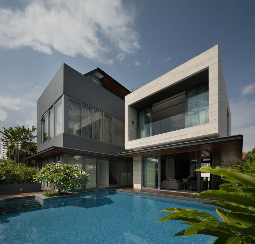 Kontraktor Bangunan Rumah Idaman - Travertine Dream House Wallflower