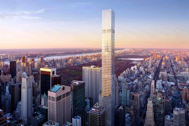Gedung Tinggi Baru di Dunia Tahun 2015 - 432-Park-Avenue 1