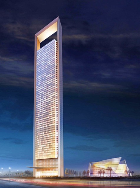 Gedung Tinggi Baru di Dunia Tahun 2015 - ADNOC-headquarters 1