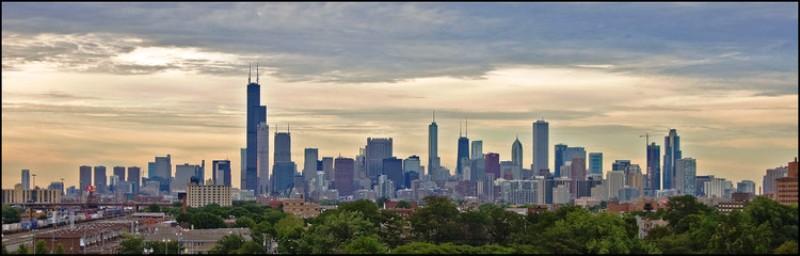 10 Kota dengan Gedung Pencakar Langit Paling Berdampak - Chicago_Tom_Gill