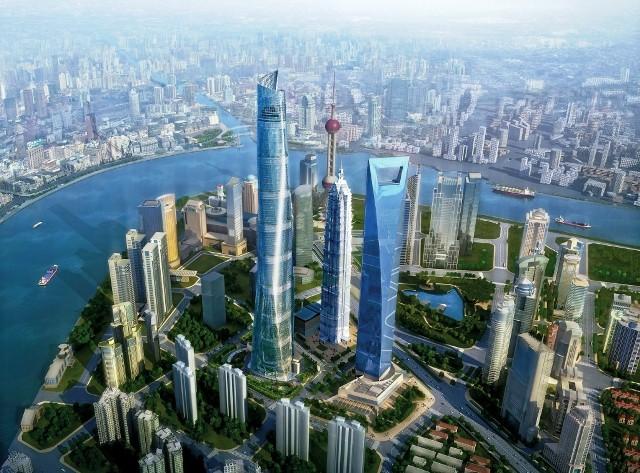 Gedung Tinggi Baru di Dunia Tahun 2015 - Shanghai-Tower 1