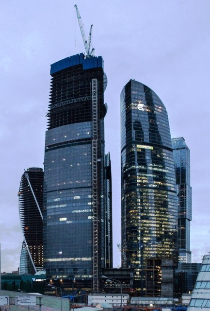 Gedung Tinggi Baru di Dunia Tahun 2015 - Vostok-Tower2