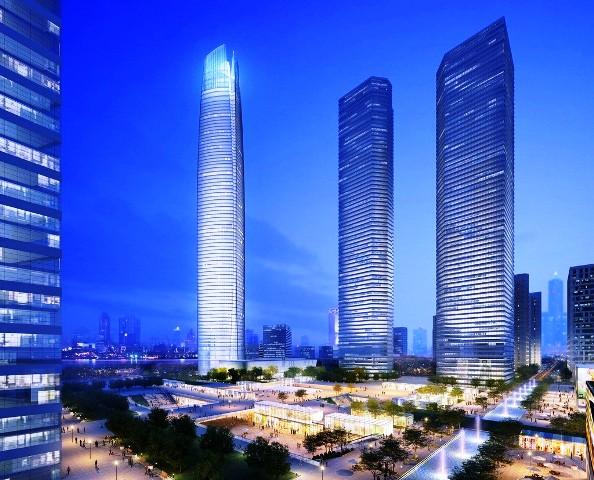Gedung Tinggi Baru di Dunia Tahun 2015 - Wuhan-Center 2