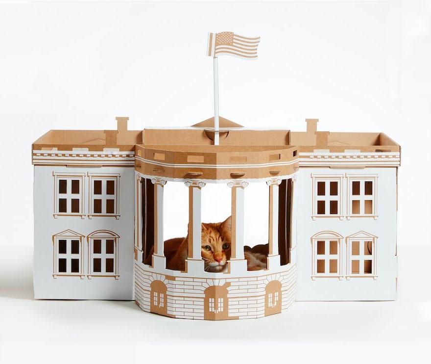 Rumah Kucing Gaya Arsitektur
