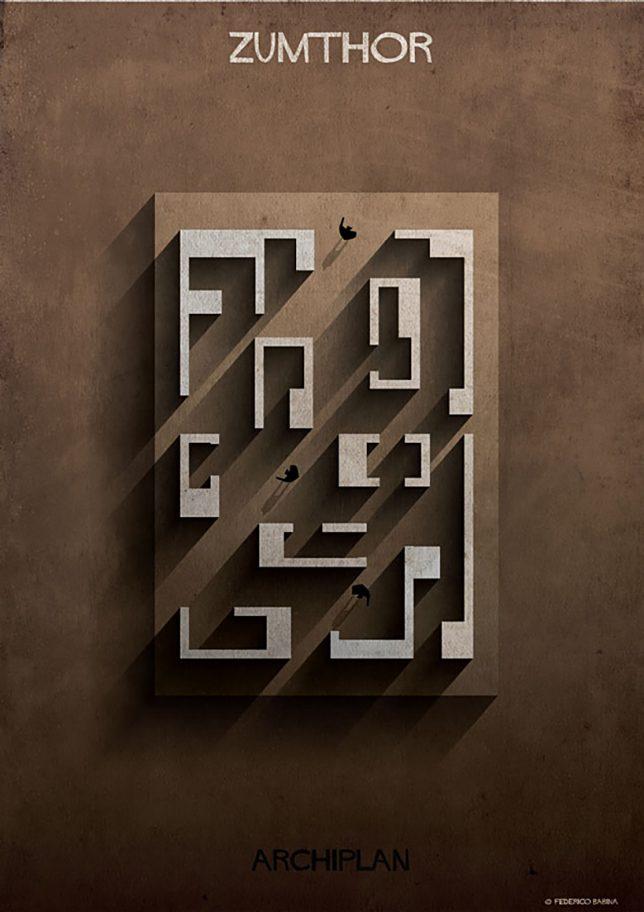 Denah Rumah yang Didesain seperti Labirin