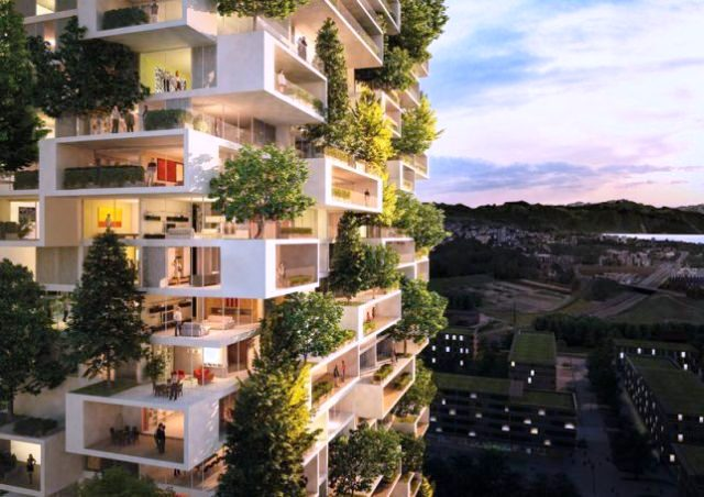 12 Futuristic Residential Towers for Urban People
