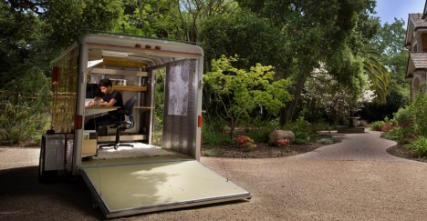 Mobile Pop-up Office Ideas
