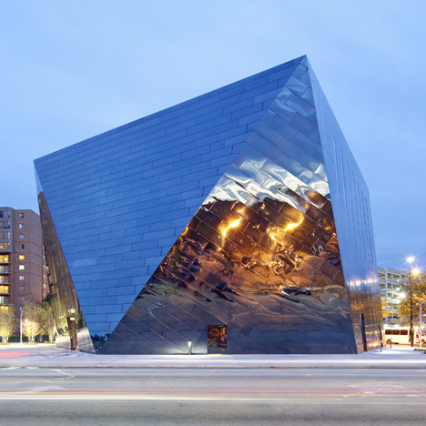 13 Buildings with Architectural Shape like Gemstones