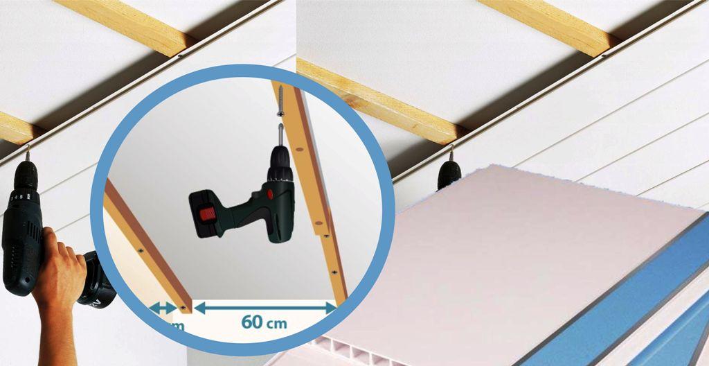 Pemasangan Plafond dan Pengunaan Plafond PVC