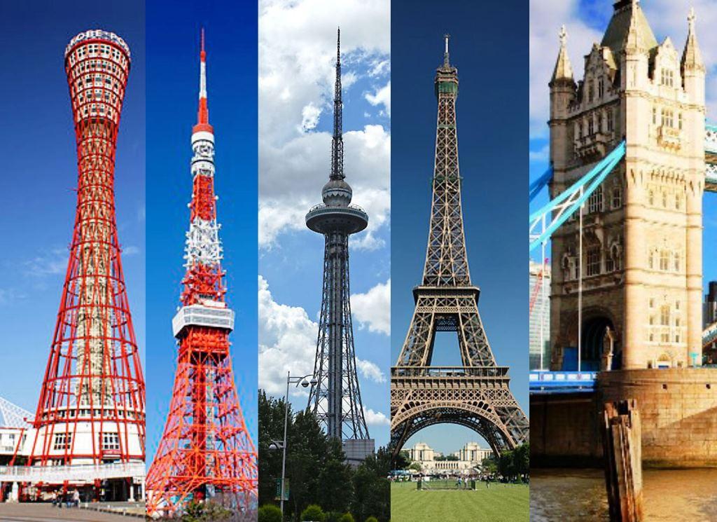 5 Daftar Menara Baja dan Besi Terunik di Dunia