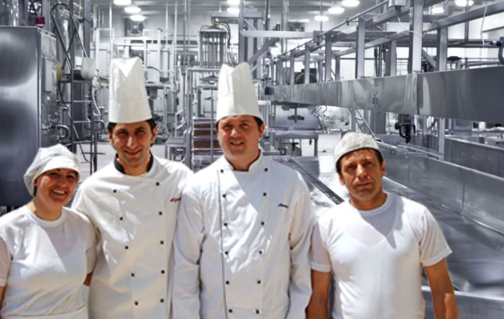 Stainless steel dalam industri pangan