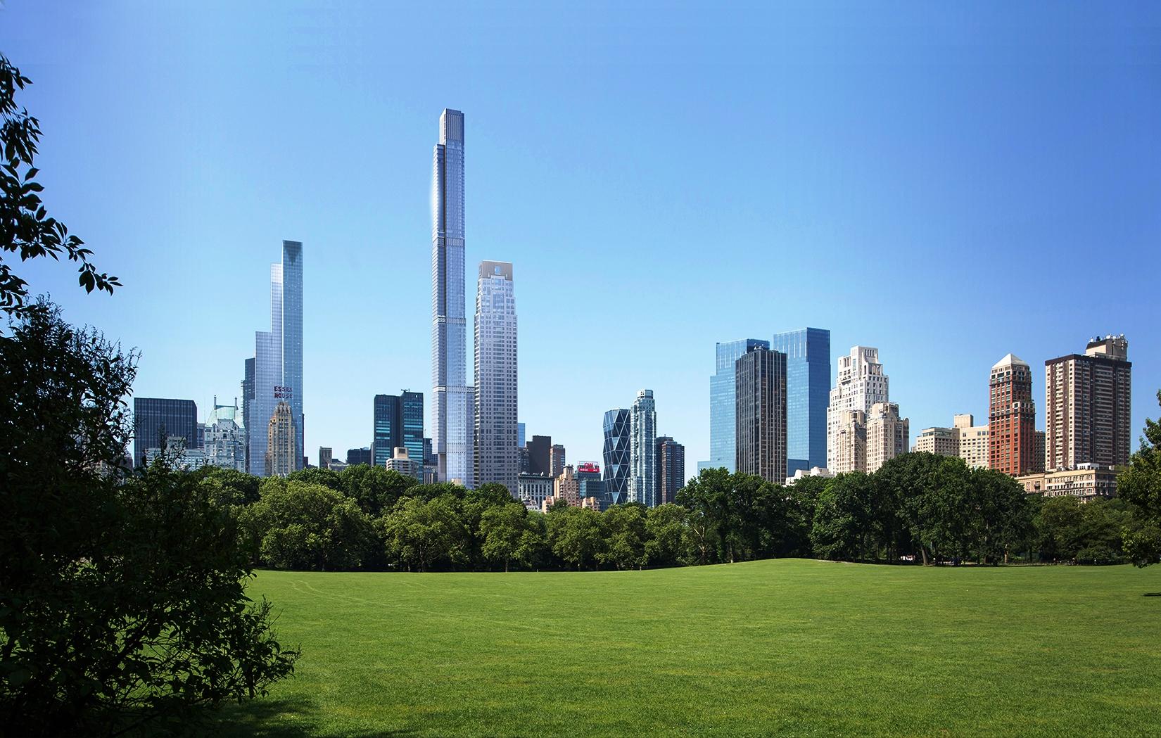 Bangunan Hunian Tertinggi di Dunia Direncanakan untuk 'Milyuner' New York