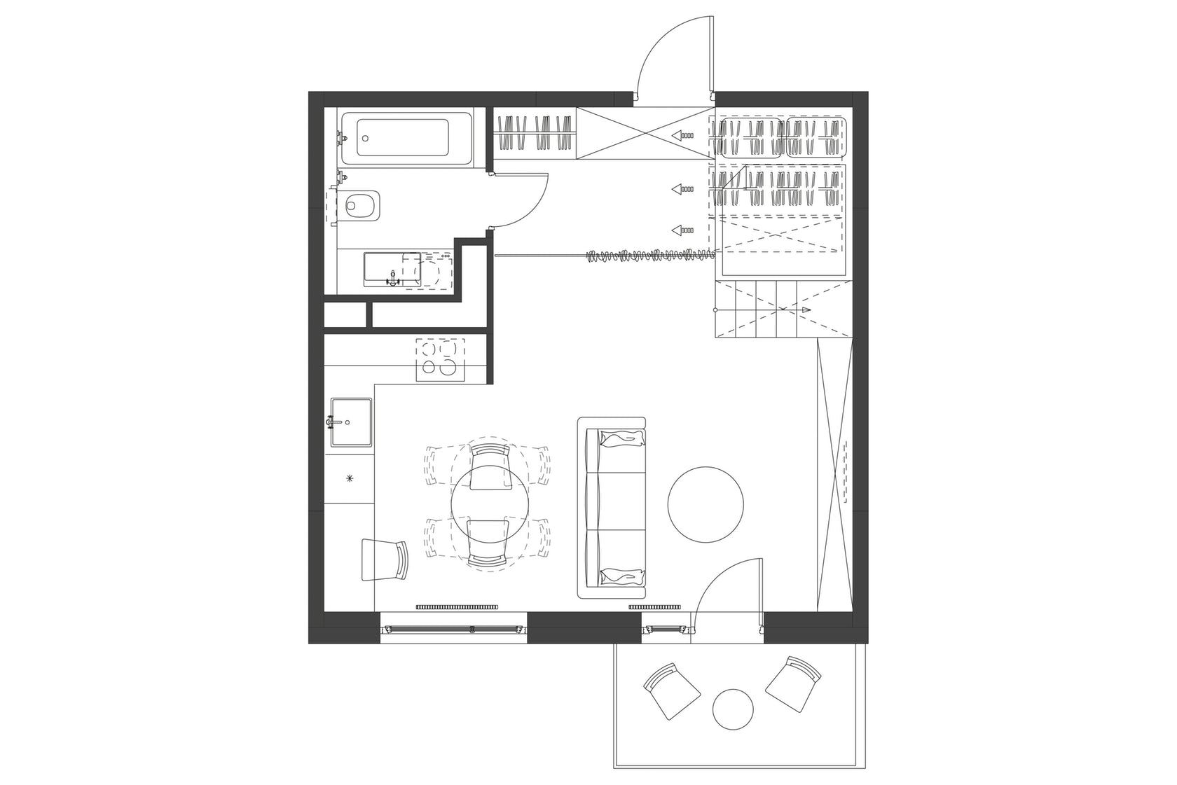 Perencanaan Cerdas Apartemen Sempit